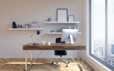 Cómo conseguir una oficina de estilo nórdico