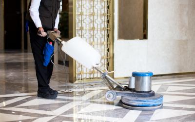 Qué maquinas de limpieza utilizamos en El Globo
