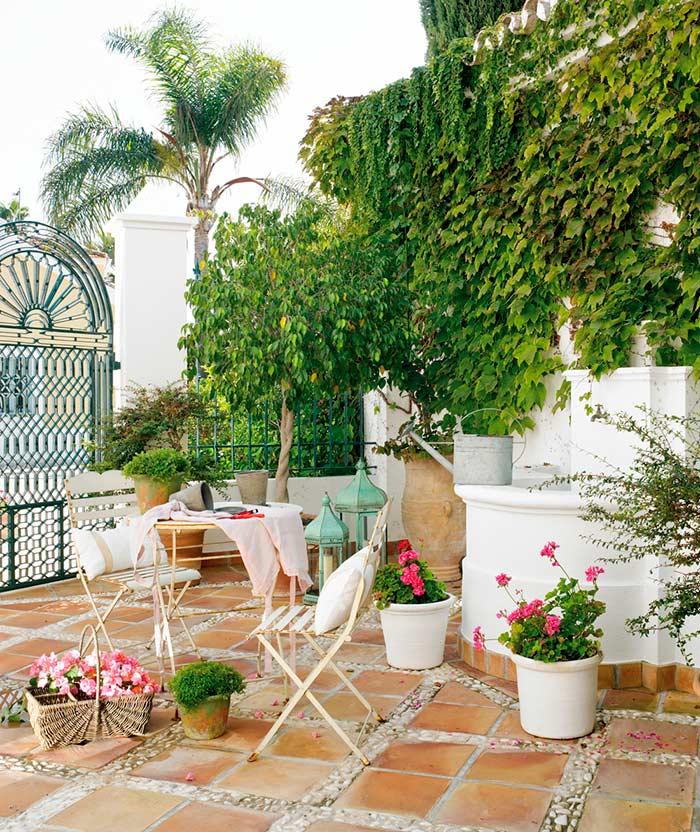 Patio estilo andaluz